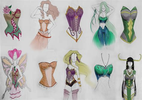 Designs Of corset design by antarf on deviantart