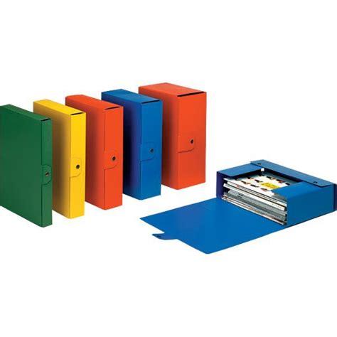 materiali da ufficio scatole portaprogetti eurobox esselte dorso 8 25x35 cm