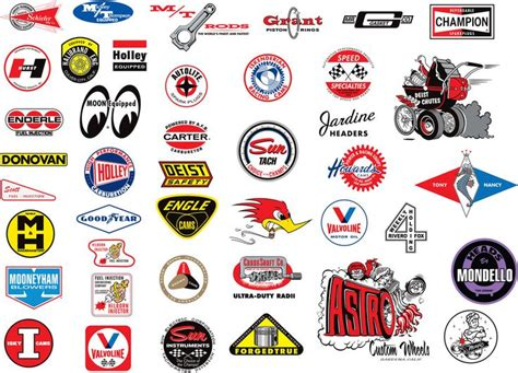Vintage Auto Decals by 243 Best Vintage Racing Logos And Decals Images On