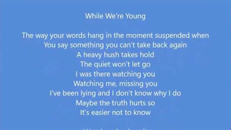 marianas trench while were young lyrics mariana trench while we re young youtube