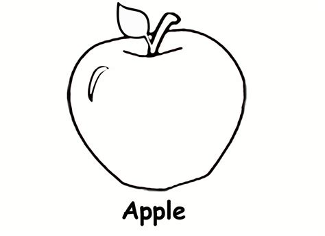 templates for pages apple apple coloring pages for preschoolers coloring pages