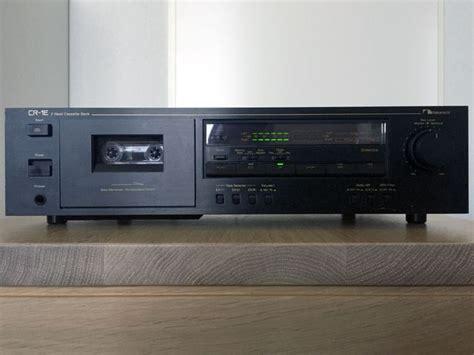 nakamichi cassette deck 2 nakamichi cr 1e 2 cassette deck catawiki