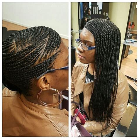 one sided ghana weaving graceful hair makeover special tips for side braids