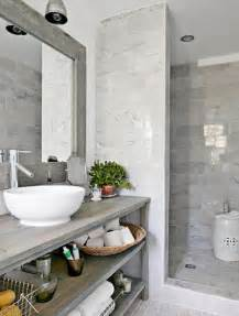 Grey Bathroom Decorating Ideas by Grey And White Bathroom Tile Ideas Images