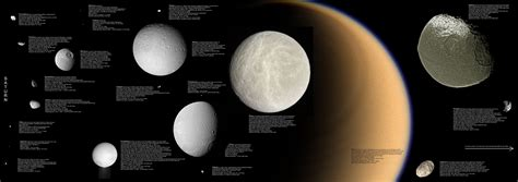 the largest moon of saturn moons
