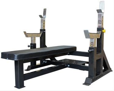 cheap competition style olympic flat bench