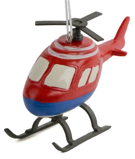 helicopter christmas ornament santa in helicopter ornament