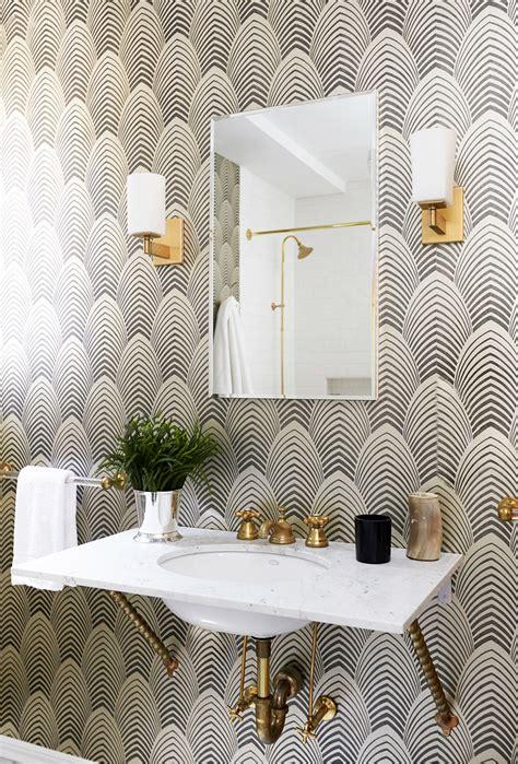 Bathroom Wallpaper Trends 2017 Living Gazette Barbara Resende Decor Home Tour Casa
