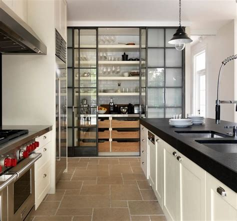 Glass Pantry by A Diversity Of Door Styles To Hide Your Pantry With