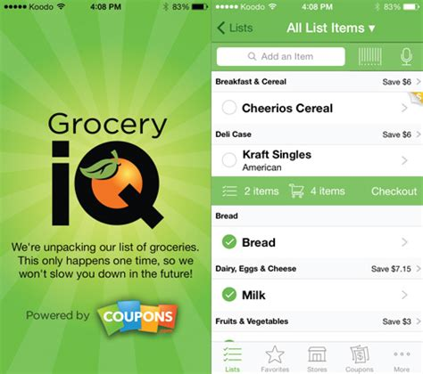 printable grocery coupon apps 5 free grocery apps that save you time and money squawkfox
