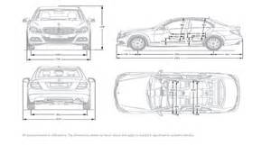 dimensions of mercedes c200