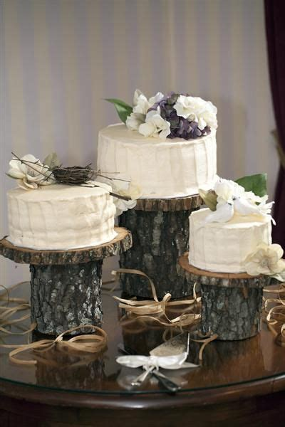 rustic cake stand ideasreally nice idea  check