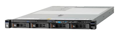 Server Lenovo System X3550 8869c2a Rack 1u ibm system x3550 m5 server business systems
