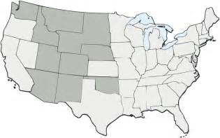 Blank Us State Map Blank Map Of United States 1803
