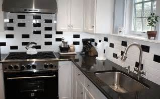backsplash for black and white kitchen black and white backsplash tile photos backsplash