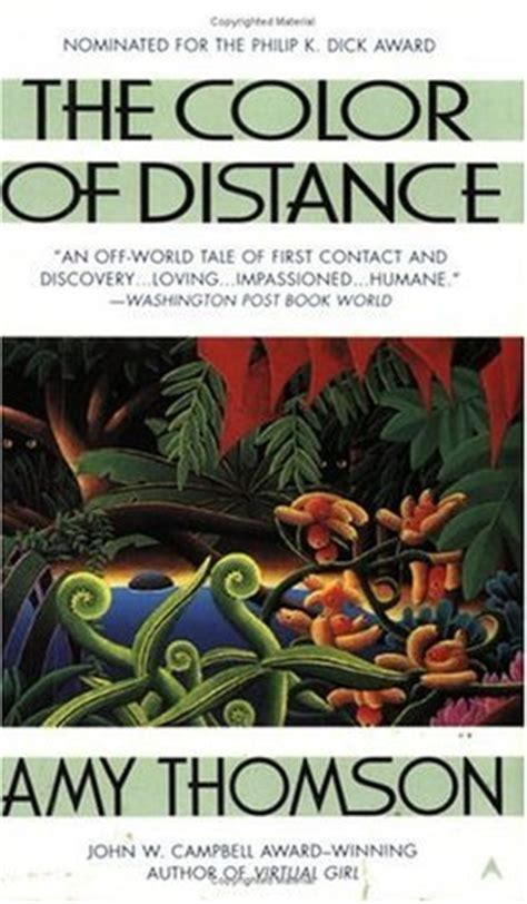 a distant books the color of distance by thomson reviews discussion