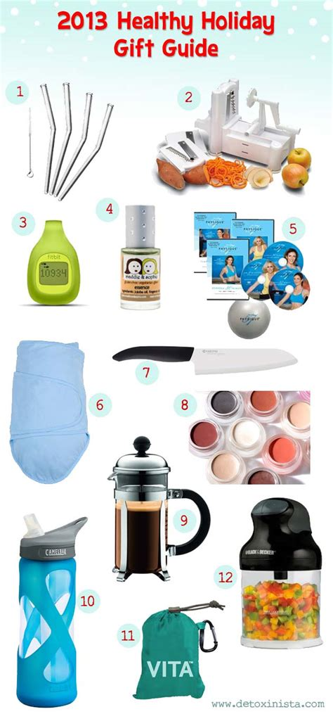 2013 healthy holiday gift guide detoxinista