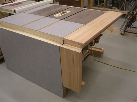 table saw extension wing folding sliding table saw extension wing by