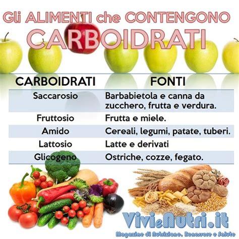 alimenti ricchi di carboidrati gli alimenti contengono carboidrati vivienutri it