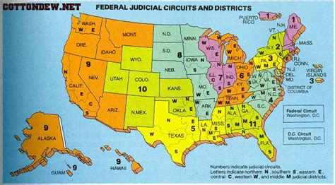 circuit court map map of federal courts a new century of forest planning