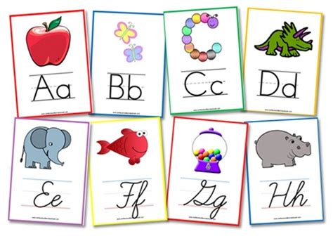 printable flash cards a z alphabet flashcards wall posters confessions of a