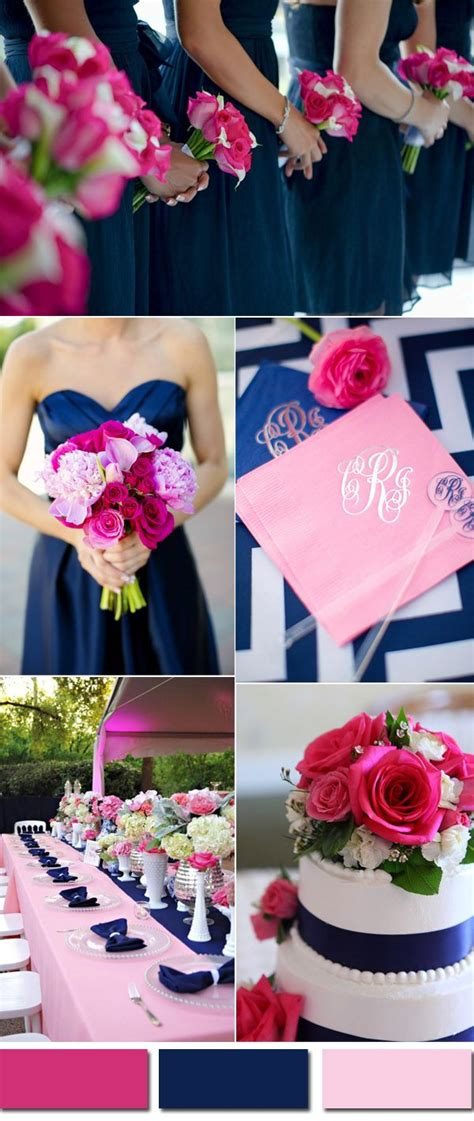 best 25 navy pink weddings ideas on