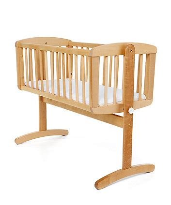 mothercare swinging crib white cribs moses baskets nursery furniture from mothercare