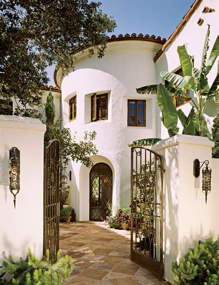spanish mission style courtyard home books worth 1 the city as a character part ii c c