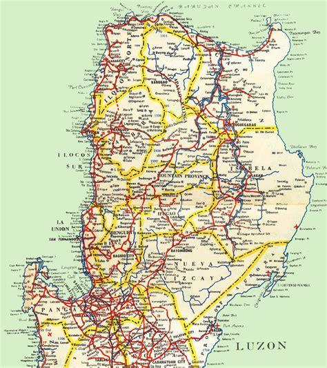 philippine road maps  travel information