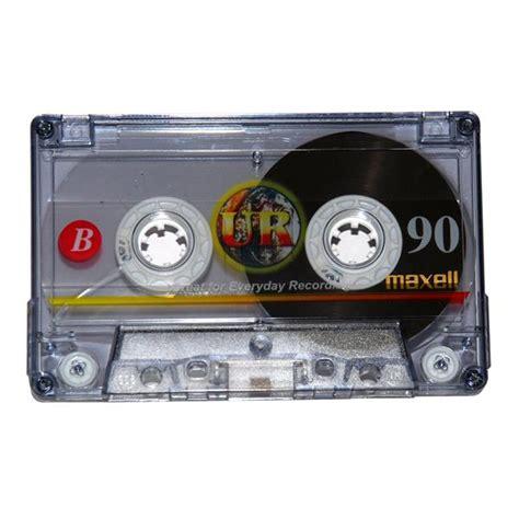 maxell audio cassette maxell ur 90 blank audio cassettes 10 pack