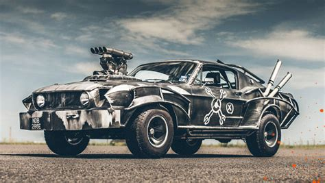 mad car win the mad max mustang codec moments