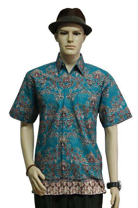 Kemeja Batik Pria Modernmas Koi Tosca kemeja batik biru tosca motif bogor hujan gerimis koleksikatik