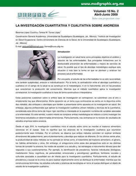 preguntas de una investigacion cuantitativa pdf la investigaci 211 n cuantitativa y cualitativa sobre