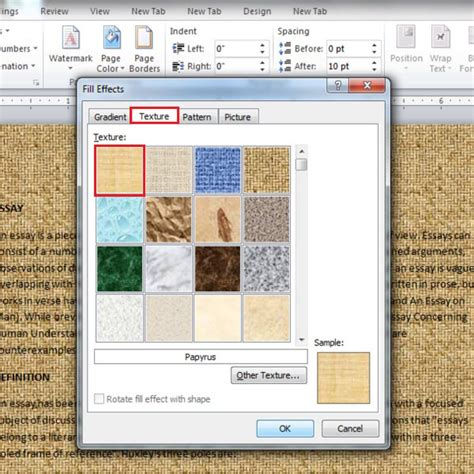 background pattern in word how to change page background color in microsoft word 2010