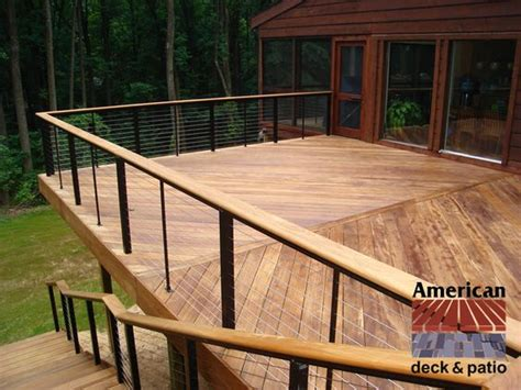 cable railing stainless steel cable and deck railings on pinterest