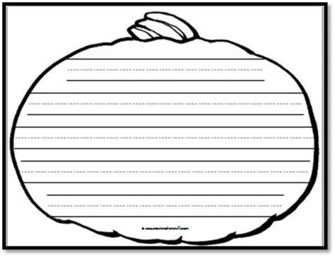 printable pumpkin writing templates pumpkin writing paper 5 handwriting lines a to z
