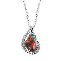 fiery black opal necklace jewelry designs