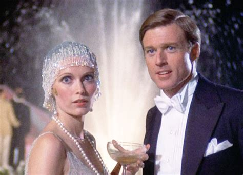 el gran gatsby the great gatsby 1974 version with robert redford and mia farrow sin categor 237 a movie s closet