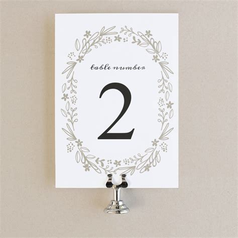 table number templates for word printable table numbers table number template floral