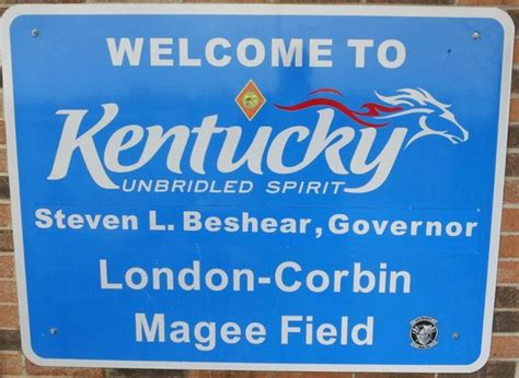 Welcome to Kentucky! - Picture of London-Corbin Airport ...