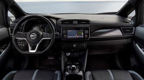 nissan leaf interior nissan leaf 2018 review v2 0 ev has wider appeal by car