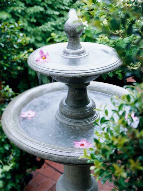 springbrunnen aus beton selber machen
