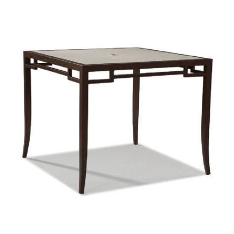 Counter High Dining Table by Venture Wicker Furniture Redington Collection