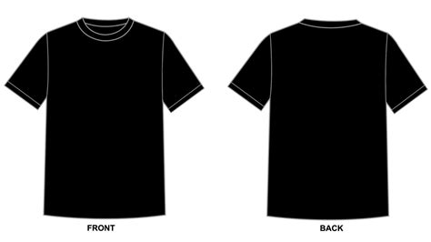 Blank Tshirt Template Black In 1080p Hd Wallpapers For Free Black T Shirt Template