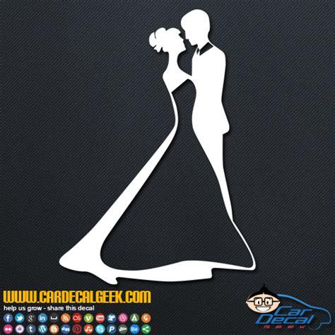Wedding Car Stickers by Wedding Car Stickers Kamos Sticker