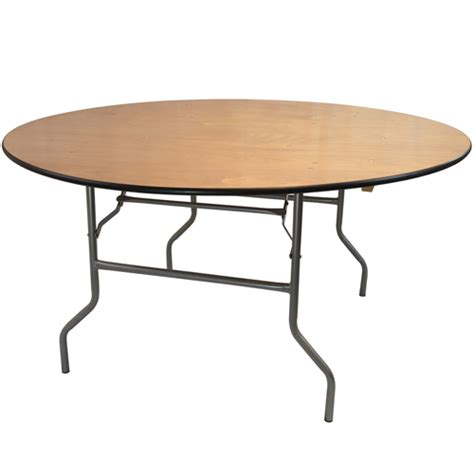 5 Foot Folding Table Banquet Tables 5 Foot Wood Folding Table