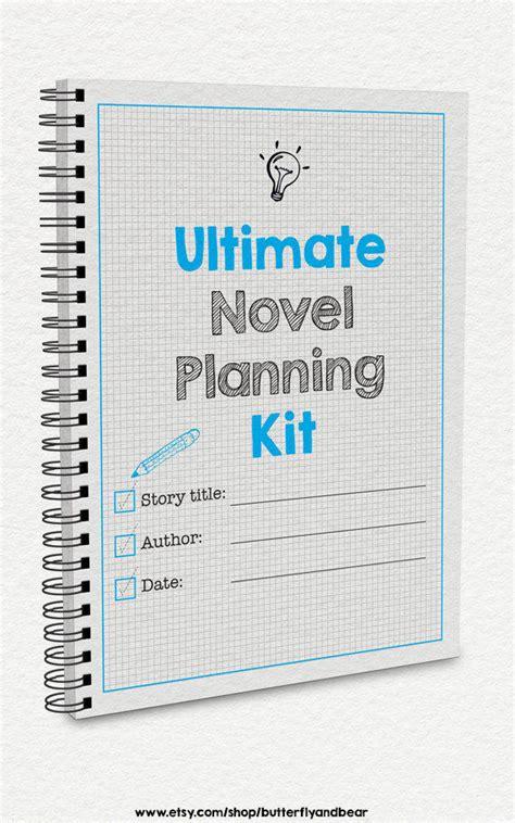 Ultimate Novel Planning Kit Printable From Butterflyandbear On Novel Planning Template