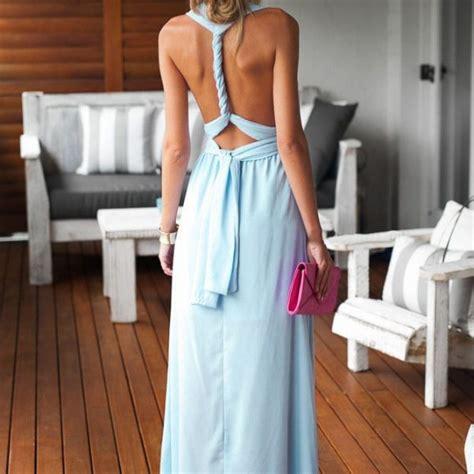 light blue halter maxi dress beautiful halter neck sleeveless light blue maxi dress