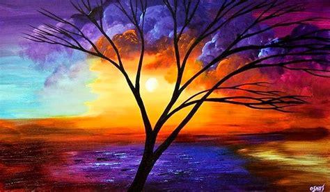 imagenes de paisajes bonitos y faciles cuadros modernos pinturas y dibujos paisajes f 225 ciles con