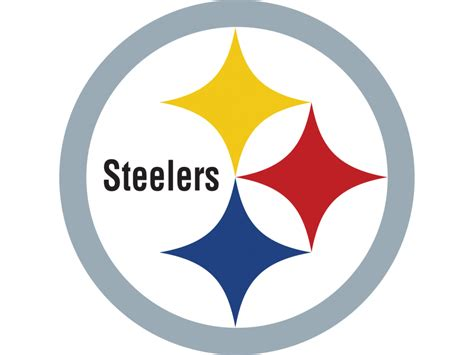 free coloring pages of steelers logo